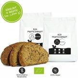 Paleo Brot-Backmischung: Kastanie & Mandel | Bio | Vegan | Getreidefrei, Gluten-frei | Eiweissbrot - 20% Protein | ohne Zuckerzusatz | Hergestellt in DE | Paleo To Go | Ergibt 4 Brote (1.8 kg) - 1