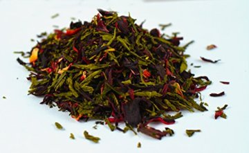 Premium Bio Teemischungen von Fairment®, für Kombucha geeignet, 100g (Hibiskusblüte) - 2