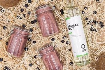 PRIMAL MCT Öl in Glasflasche | Extrakt aus Kokosöl | Geschmacksneutral | Caprylsäure (C-8) und Caprinsäure (C-10) | Bulletproof Coffee | MCT Oil - 500ml - 5