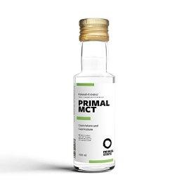 PRIMAL MCT Öl in Glasflasche   Extrakt aus Kokosöl   Geschmacksneutral   Caprylsäure (C-8) und Caprinsäure (C-10)   Bulletproof Coffee   MCT Oil - 100ml - 1