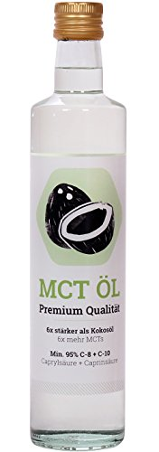 Primal State MCT Öl 500ml - Glasflasche - 1