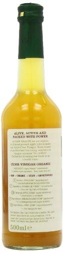 Roh Gesundheit Apfelessig mit der Mutter nicht pasteurisierte-naturtrübe Bio 500g - 7