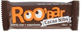 Roobar cacao nibs und almonds, 10er Pack (10 x 30 g) - 1