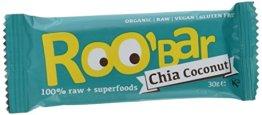 Roobar chia und coconut, 10er Pack (10 x 30 g) - 1