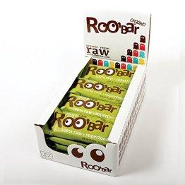 ROO'BAR Hanfprotein & Chia - 16 Stück (16x 50g) - Rohkost-Riegel mit Superfoods (bio, vegan, glutenfrei, roh) - 1
