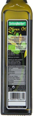 Seitenbacher Bio Oliven Öl kaltgepresst, nativ aus Spanien, 1er Pack (1 x 250 ml Flasche) - Bio - 2