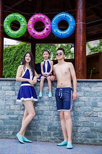 SITAILE Sommer Aqua Schuhe Barfuß Weich Wassersport Yoga Schuhe Strandschuhe Schwimmschuhe Surfschuhe für Damen Herren,Grün,XL,EU40-42 - 7