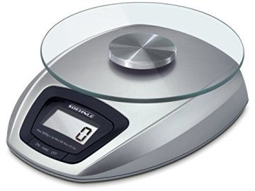 Soehnle 65840 Digitale Küchenwaage Siena silber - 1