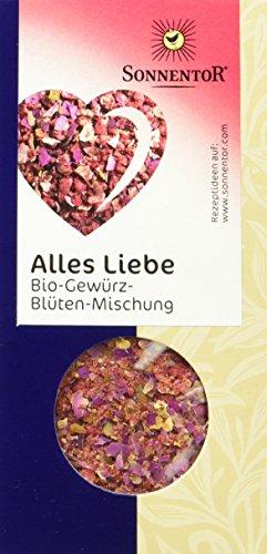 Sonnentor Alles Liebe Gewürz-Blüten-Mischung, 1er Pack (1 x 40 g) - Bio - 1