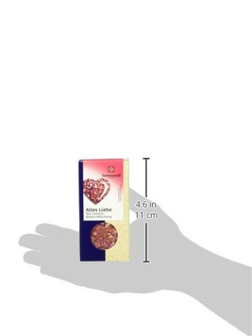 Sonnentor Alles Liebe Gewürz-Blüten-Mischung, 1er Pack (1 x 40 g) - Bio - 6