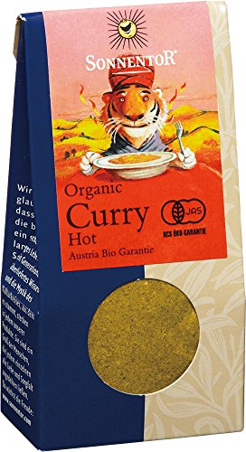 Sonnentor Curry scharf, 1er Pack (1 x 35 g) - Bio - 1
