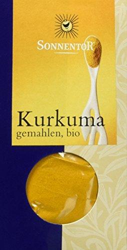 Sonnentor Kurkuma gemahlen, 1er Pack (1 x 40 g) - Bio - 1
