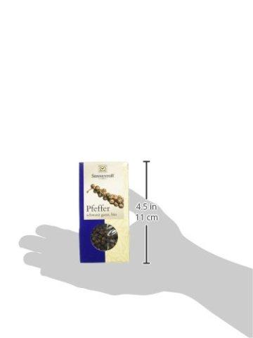 Sonnentor Pfeffer schwarz ganz, 1er Pack (1 x 35 g) - Bio - 5