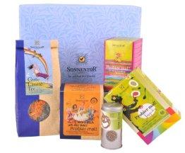 Sonnentor Probier mal - Geschenkkarton kbA, 1er Pack (1 x 508 g) - Bio - 1