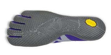 Vibram Five Fingers - KSO EVO (Damen) - Zehenschuhe - Purple/Grey Größe: 40 - 7