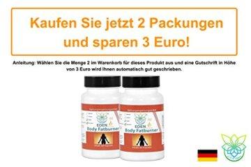 VITARAGNA Body Fatburner Meta Booster 60 Kapseln ohne Koffein mit Garcinia-Mangostana, Spaeranthus-Indicus, Fettverbrenner, Diät-Pillen, Abnehm-Pillen, natürlich abnehmen auch bei Bauchfett - 5