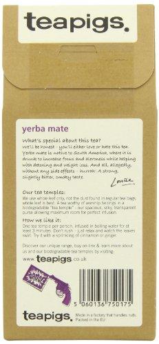 Yerba Mate Tea by Teapigs 15 tea temples - 3