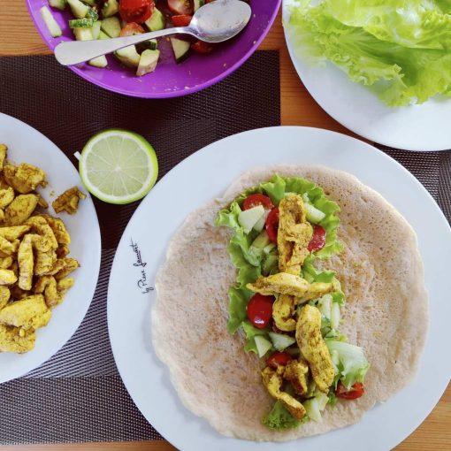 Tortilijų be grūdų receptas