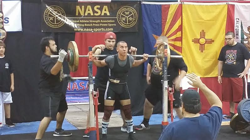 Tony Camper Paleo Powerlifting Athlete