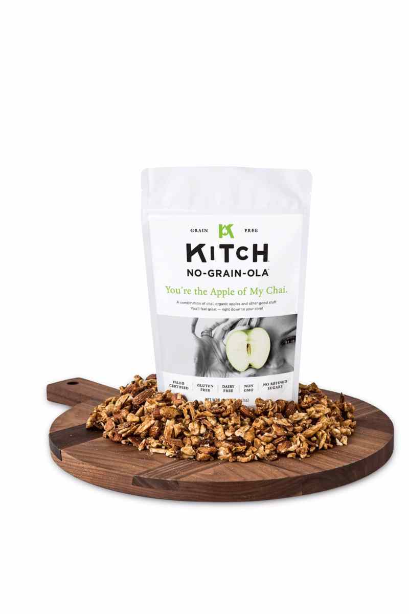 Apple and Chai certified paleogranola from KITCHUN