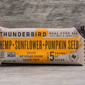Hemp Sunflower Thunderbird Bars certified paleo and paleovegan