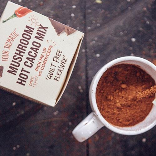 Hot Cacao with Cordyceps - Four Sigmatic - Certified Paleo, PaleoVegan, KETO Certified - Paleo Foundation