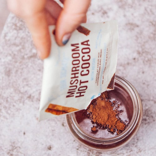 Hot Cacao with Reishi - Four Sigmatic - Certified Paleo, PaleoVegan, KETO Certified - Paleo Foundation