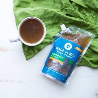 100% Grass-fed Beef Bone Broth 1 - Bare Bones Broth - Certified Paleo, KETO Certified by the Paleo Foundation