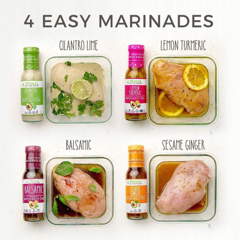 4 Easy Marinades - Primal Kitchen Foods - Certified Paleo, KETO Certified by the Paleo Foundation