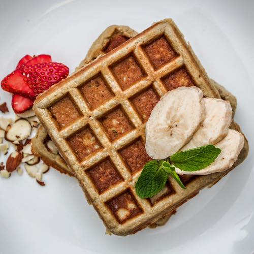 Banana Cinnamon Waffles - Kitchfix - Certified Paleo - Paleo Foundation