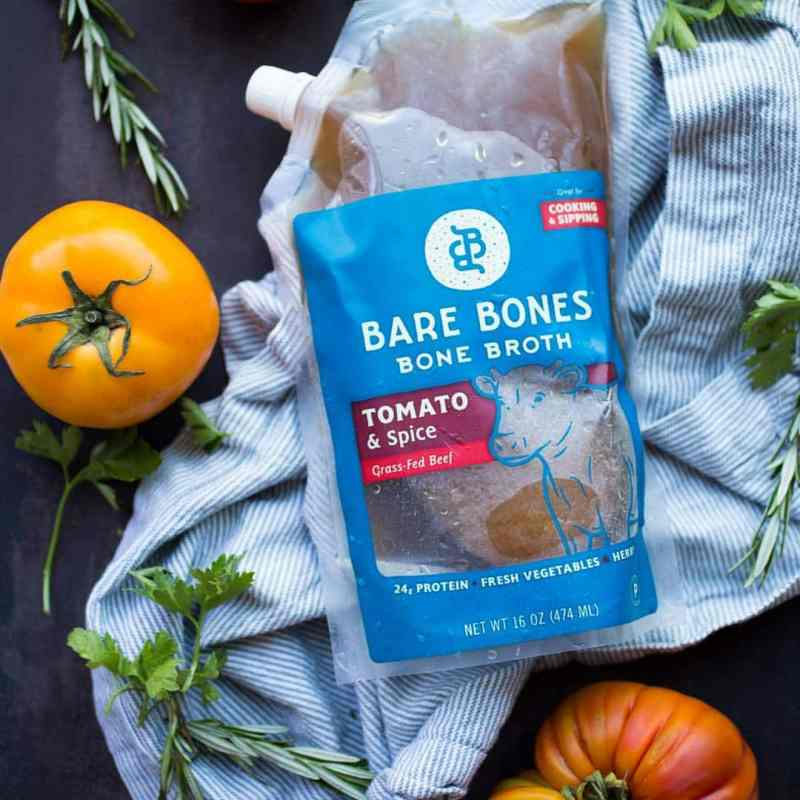 """Bare Bones Broth Grass-fed Beef Certified Paleo - Bare Bones is part cooking ingredient, part beverage and part """"souperfood."""" Nourish your body with a chef-designed broth that can be sipped as a healthy drink or used as a base for soups, stews, sauces and so much more! Our core product line is chef-inspired bone broths made from sustainable ingredients and perfect for sipping, souping, saucing and beyond. #paleo #certifiedpaleo #whole30"""