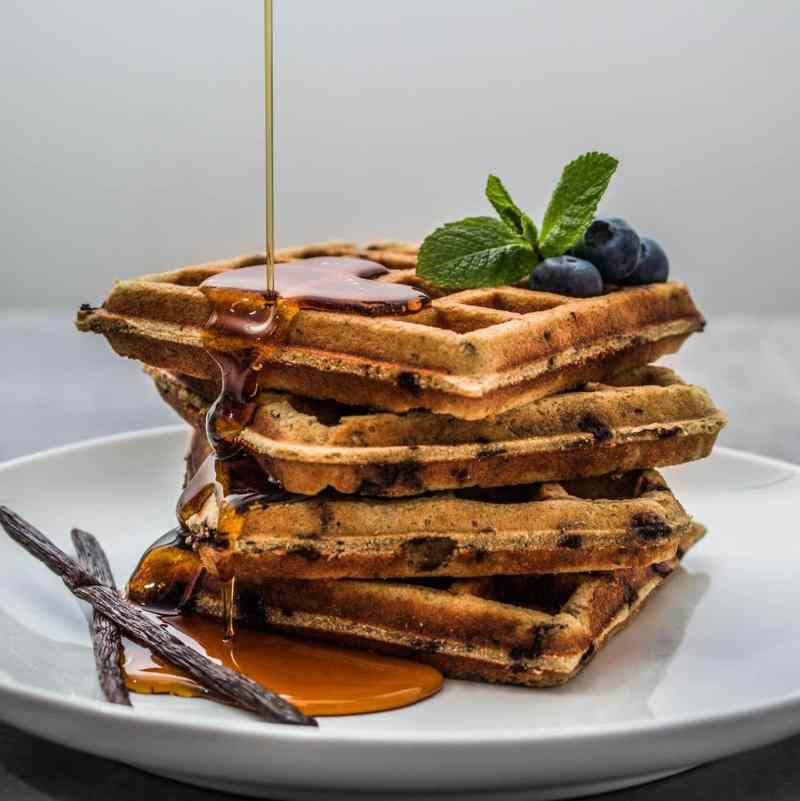 Blueberry Waffles 2 - Kitchfix - Certified Paleo - Paleo Foundation