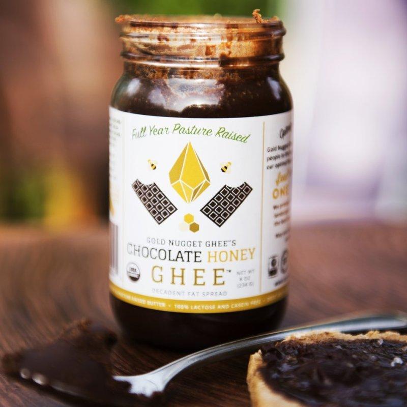 Chocolate Honey Ghee - Gold Nugget Ghee - Paleo Friendly - Paleo Foundation