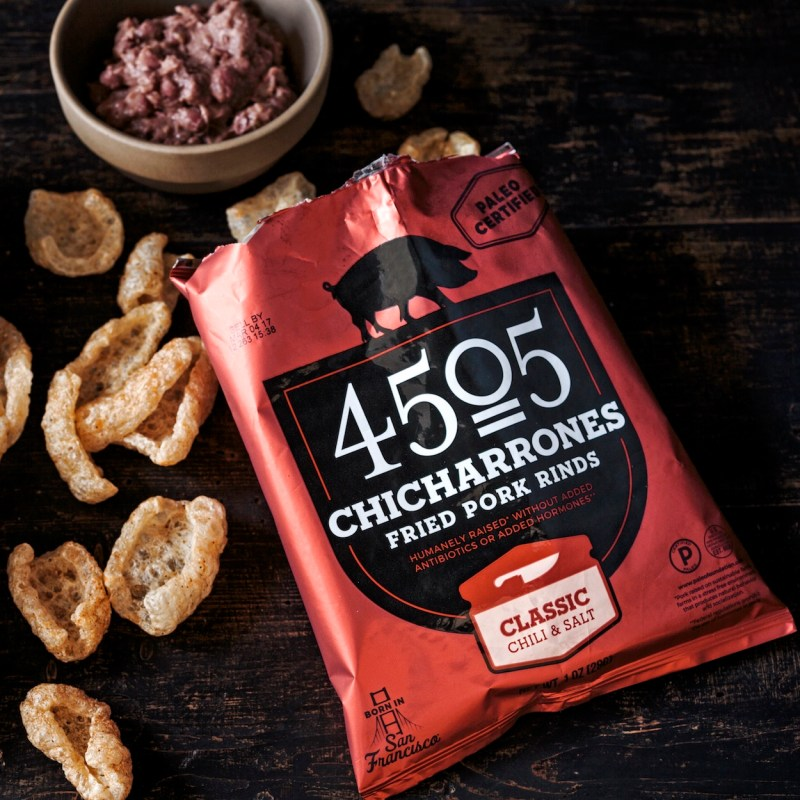 Classic Chili & Salt Chicharrones - 4505 Meats - Certified Paleo, KETO Certified - Paleo Foundation