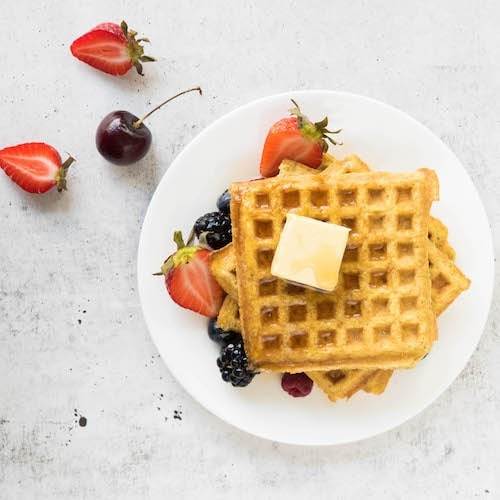 Fruit and Waffles - Kitchfix - Certified Paleo - Paleo Foundation