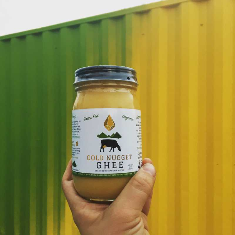 Gold Nugget Ghee is committed to bringing people the highest quality ghee available on the market. Butter for Gold Nugget Ghee is sourced from Northern California, which provides a unique rainforest ecosystem that allows cows to happily graze on green grass ALL YEAR long. #paleo #paleofriendly #ketocertified