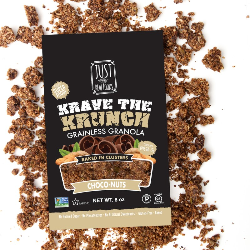 Krave the Crunch Choco Mix - Just Real Foods - Certified Paleo - Paleo Foundation