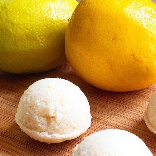 Lemon Cream Pie Power Balls - Paleo Angel - Certified Paleo, AIP - Paleo Foundation - paleo diet