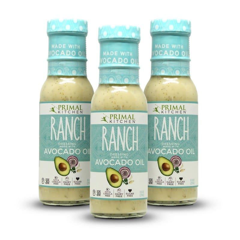 Primal Kitchen Certified Paleo Certified Grain Free Gluten Free Soy Free Ranch Dressing