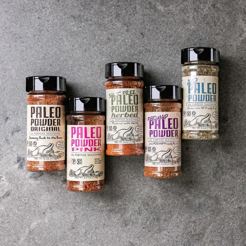 Product Lineup - Paleo Powder Seasonings - Certified Paleo - Paleo Foundation
