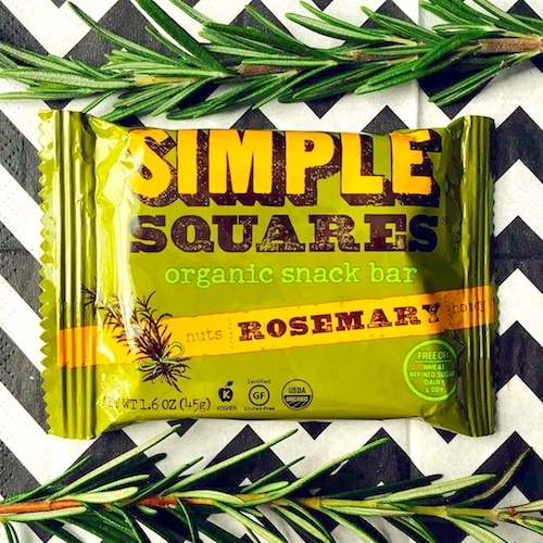 Rosemary 2 - Simple Squares - Certified Paleo - Paleo Foundation