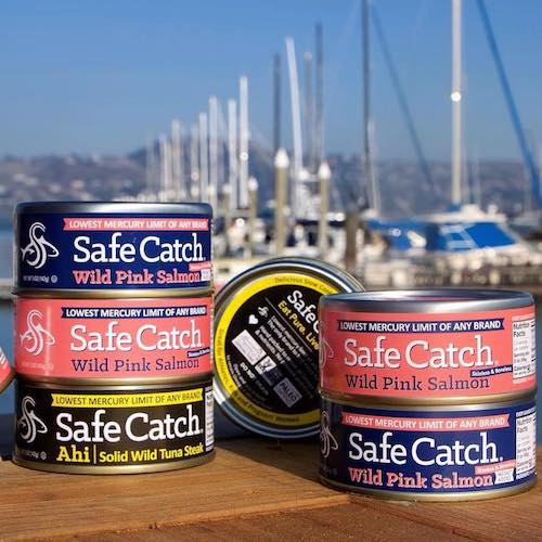 Salmon & Ahi stack - Safe Catch - Certified Paleo, Keto Certified - Paleo Foundation