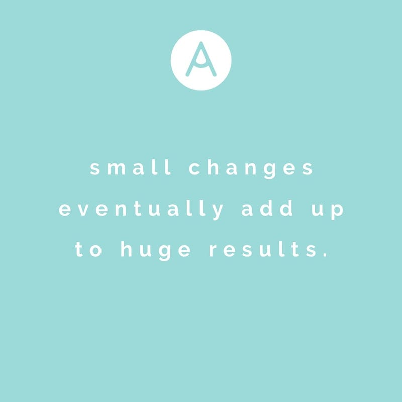 Small changes lead to huge results