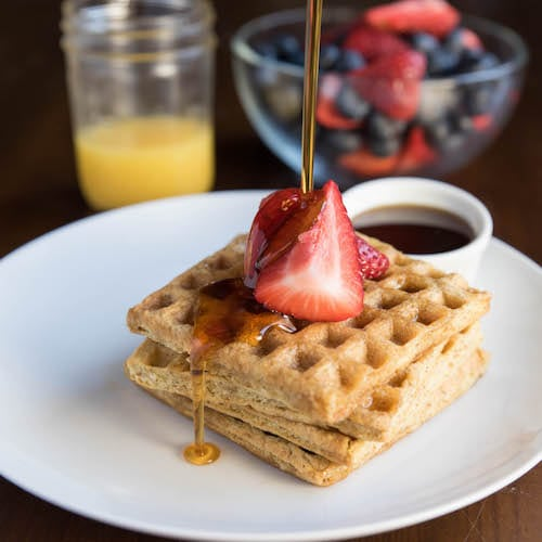 Strawberry & Waffles - Kitchfix - Certified Paleo - Paleo Foundation