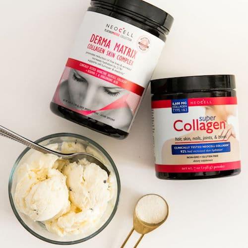 Super Collagen + Derma Matrix & Ice Cream - Neocell - Paleo Friendly - Paleo Foundation