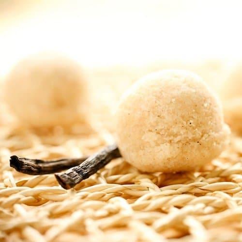 Vanilla Cupcake Power Balls - Paleo Angel - Certified Paleo, AIP - Paleo Foundation - paleo diet