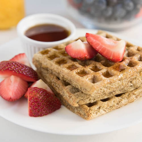 Waffles by Kitchfix 3 - Certified Paleo - Paleo Foundation