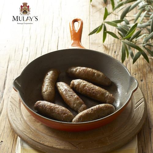 Breakfast Sausage in skillet - Mulay's - Certified Paleo - paleo foundation - paleo diet - paleo lifestyle