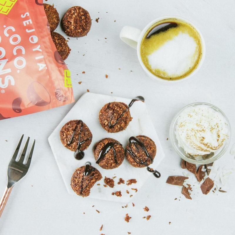 Brownie Coco-roons - Sejoyia - Certified Paleo, Paleo Vegan - Paleo Foundation