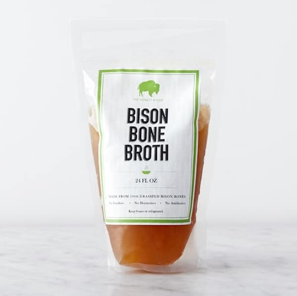 Certified Paleo Bone Broth from the Honest Bison